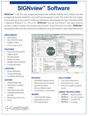SignView Software Cutsheet