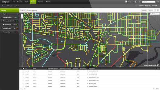 Cartegraph municipal asset management software