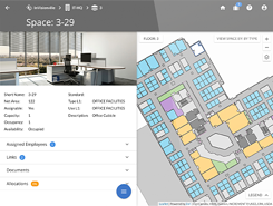 Cartegraph Space Management floorplan planning software