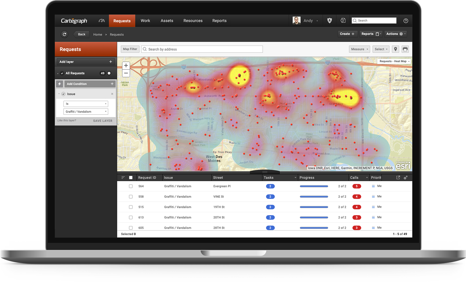 Software for ArcGIS | Cartegraph | Built for Government