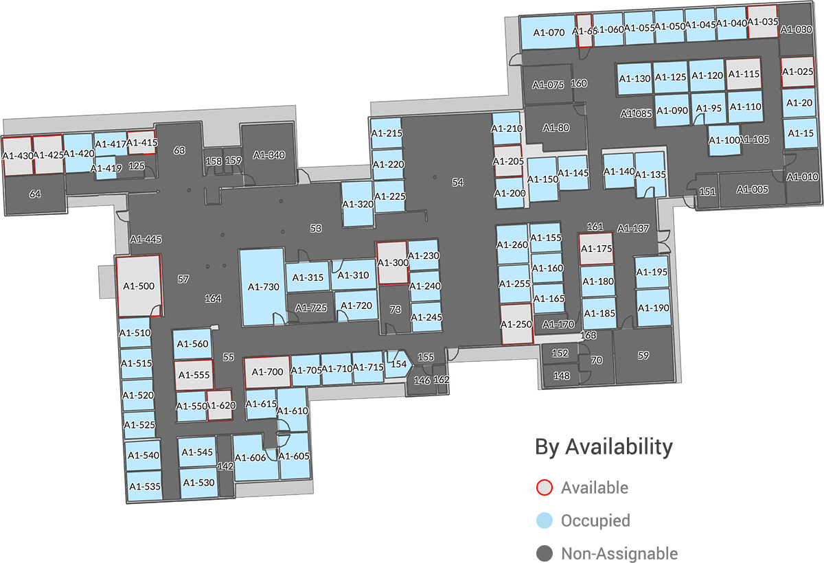 Cartegraph Floor Plan View By: Availability