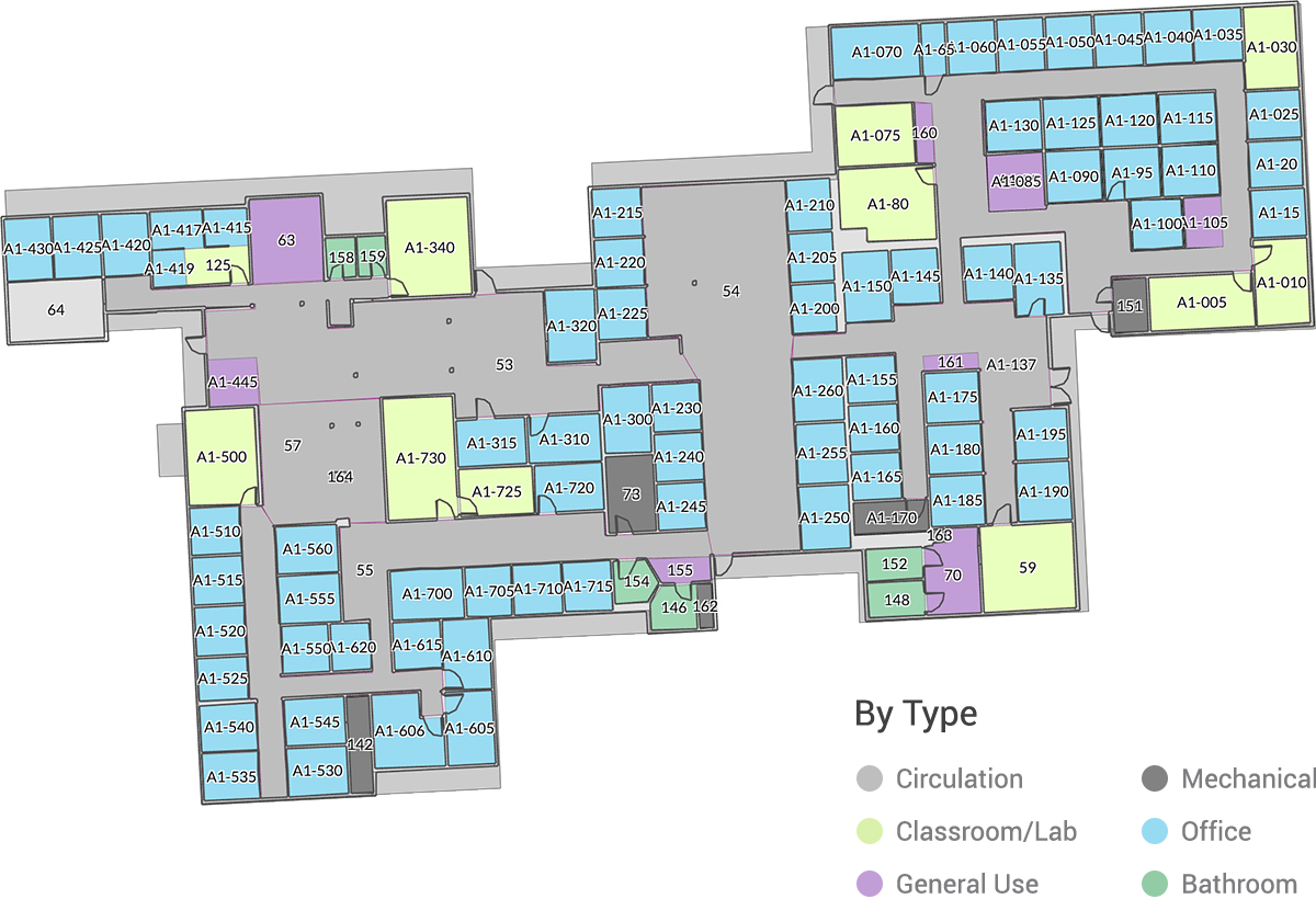 Cartegraph Floor Plan View By: Type