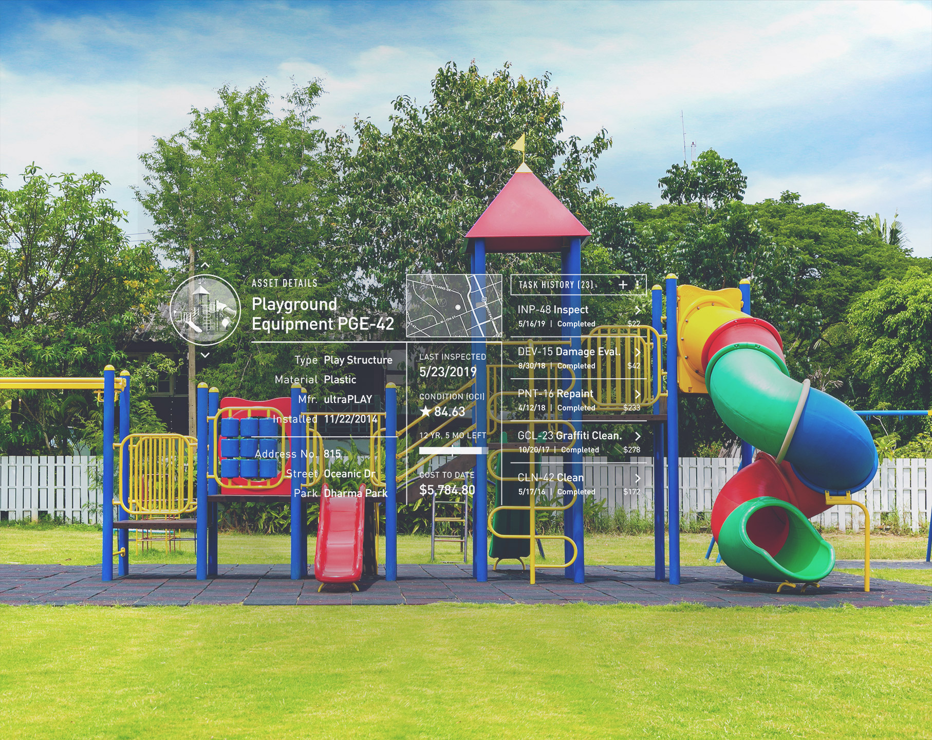 park management_playground equipment software