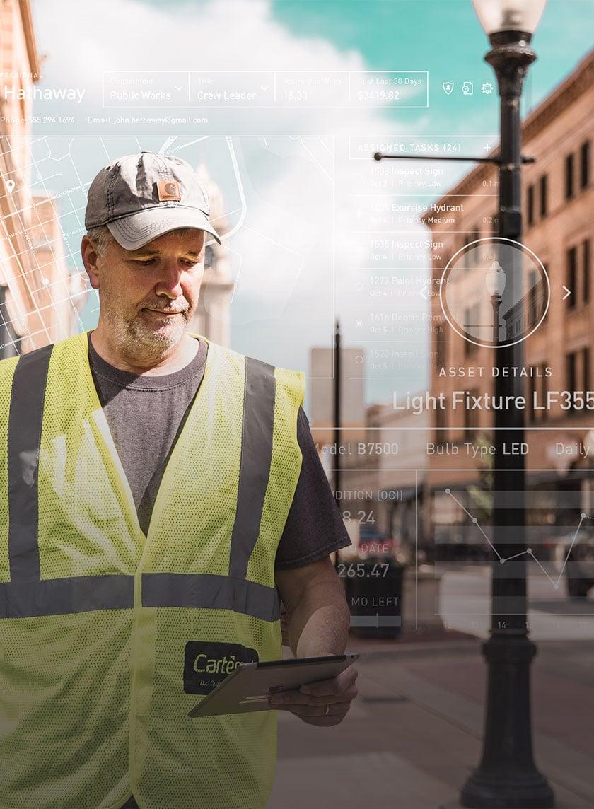 Cartegraph Operations Management System asset work management
