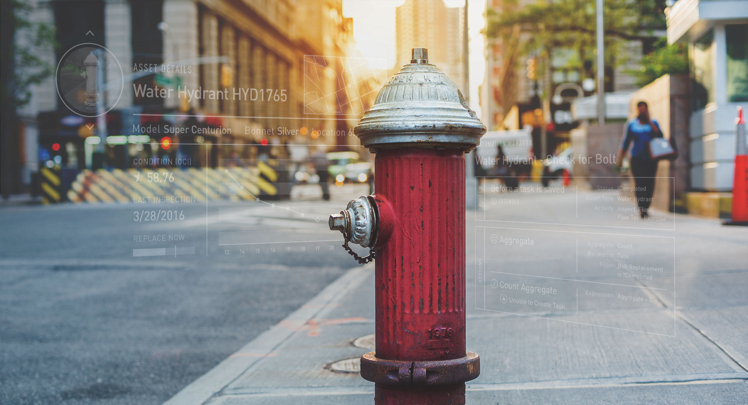 Hydrant with Cartegraph UI