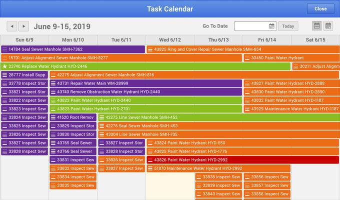 Task Calendar UI