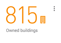 815 owned buildings