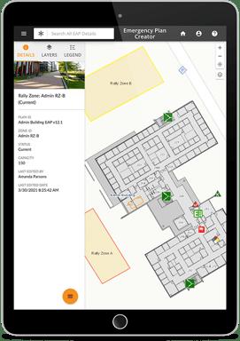 Emergency response planning app