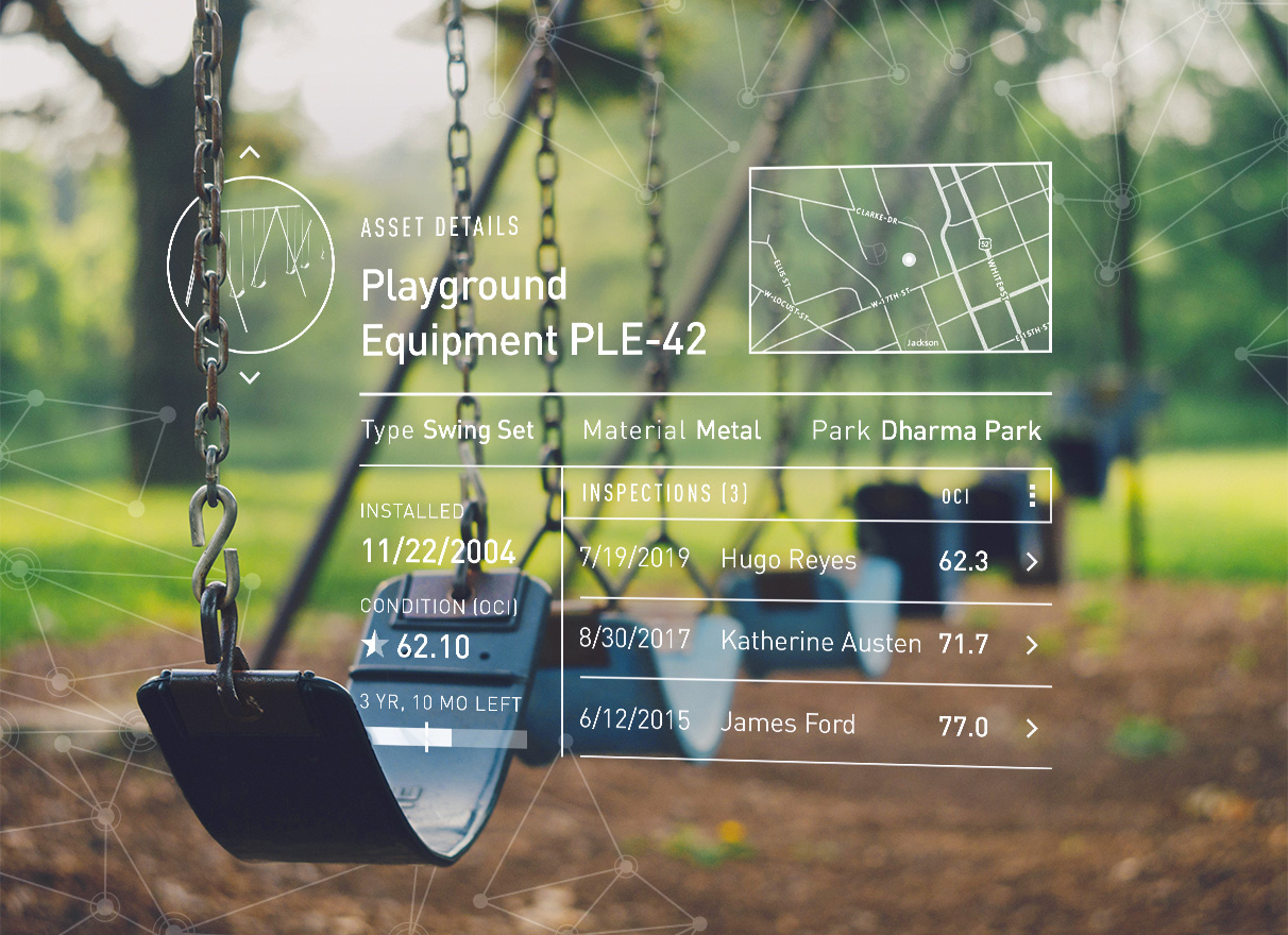 Playground software that meets ASTM standards F1487, F2223, F1292