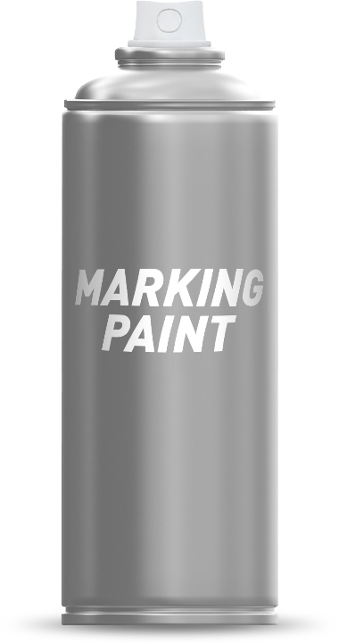 Marking spray paint can
