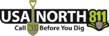 USA North 811 logo