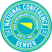 2019 Cartegraph National Conference - April 29-May 3, Denver CO - High-Performance Government