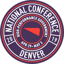 2019 Cartegraph National Conference - April 29-May 3, Denver, CO - High-Performance Government